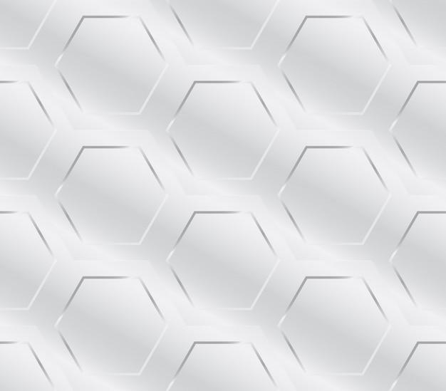 Padrão geométrico de indústria de metal sem costura Vetor Premium