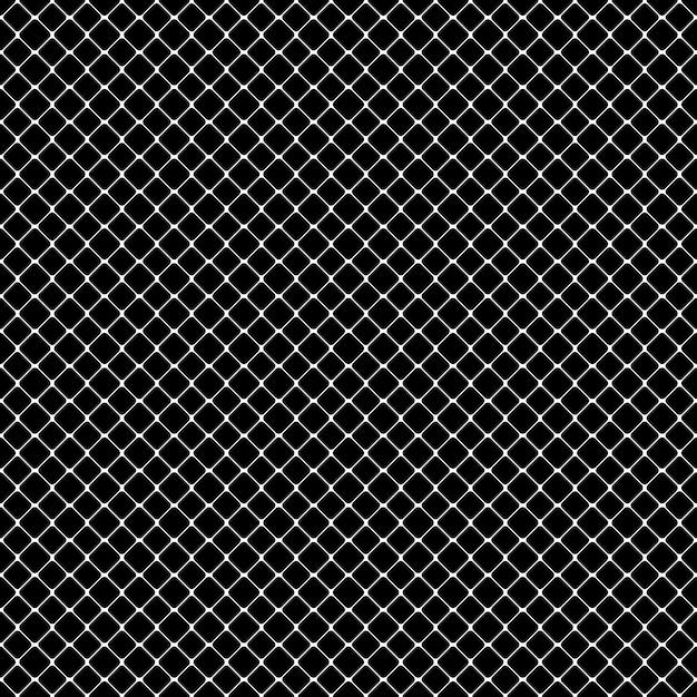 Padrão quadrado monocromático abstrato sem costura Vetor grátis