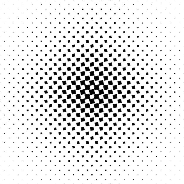 Padrão quadrado monocromático Vetor grátis