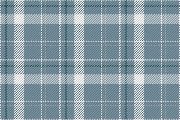 Padrão sem emenda de xadrez escocês. fundo repetível com textura de tecido de seleção. Vetor Premium