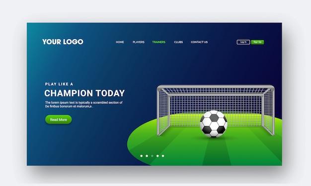 Página de destino de aplicativos para dispositivos móveis ou websites Vetor Premium