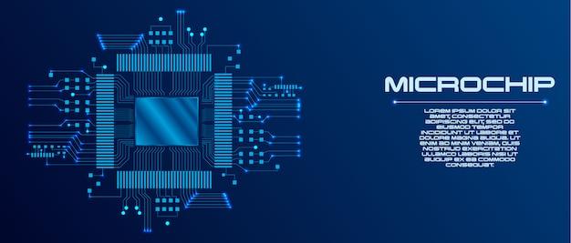 Página de destino de inteligência artificial (ai). modelo de site para o conceito de aprendizagem profunda. Vetor Premium