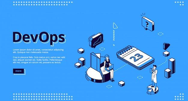 Página inicial do conceito de operações de desenvolvimento Vetor grátis