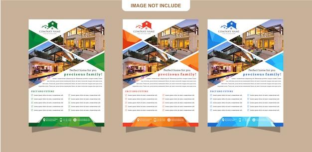 Panfleto de modelo ou design de brochura pode usado para capa de relatório de negócios corporativos Vetor Premium