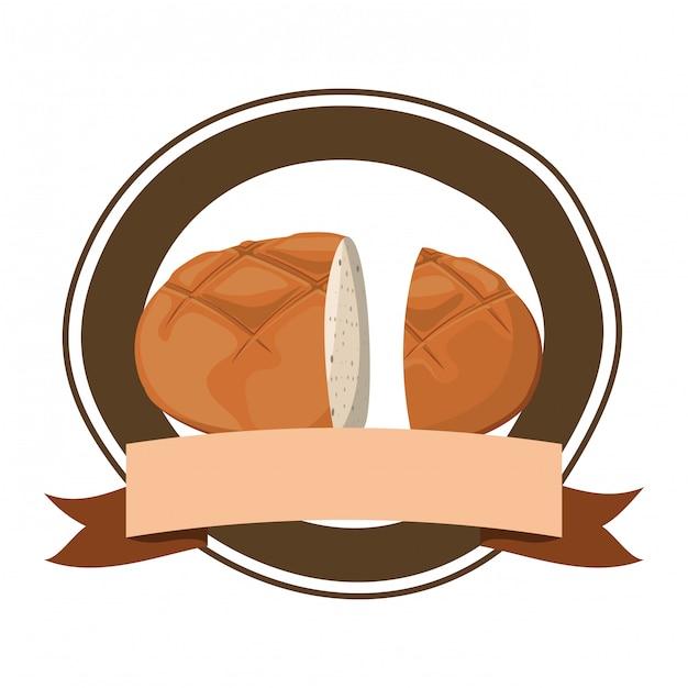 Pão bagel fresco e delicioso Vetor Premium