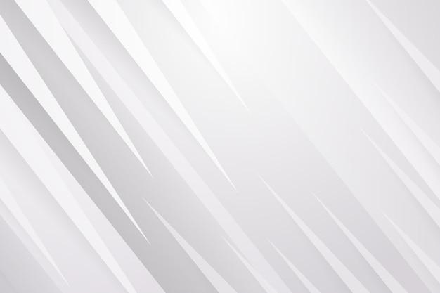 Papel de parede abstrato branco Vetor grátis