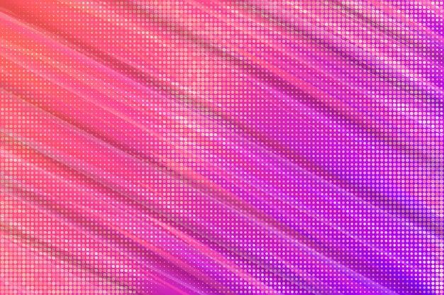Papel de parede abstrato com efeito de meio-tom Vetor Premium