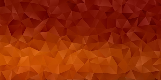 Papel de parede abstrato geométrico do fundo do polígono. polly baixa em forma de triângulo Vetor Premium