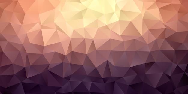 Papel de parede de fundo abstrato polígono geométrico Vetor Premium
