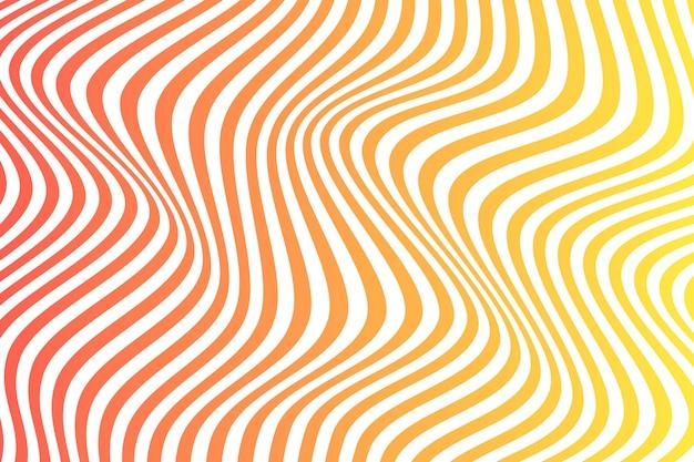 Papel de parede de ilusão de ótica psicodélica Vetor grátis
