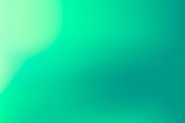 Papel de parede em tons de gradiente verde Vetor grátis