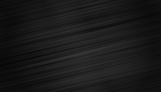 Papel de parede preto com fundo de linhas de movimento Vetor grátis