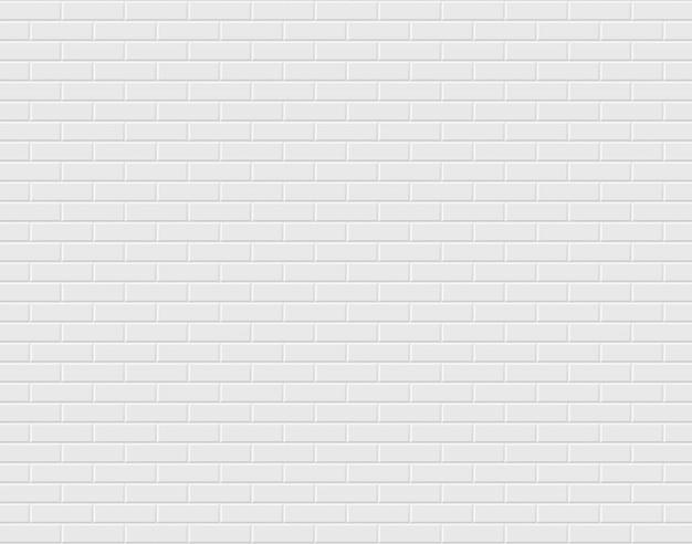 Parede de tijolos brancos. fundo Vetor Premium