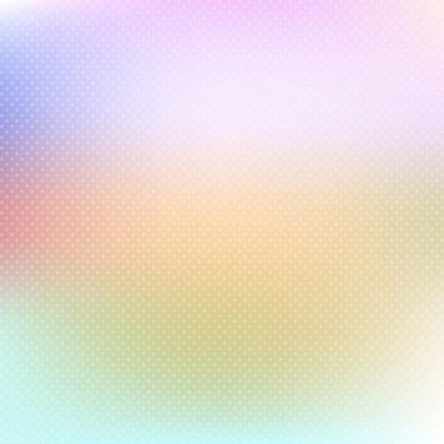 Pastel coloriu o fundo com bolinhas macias Vetor grátis