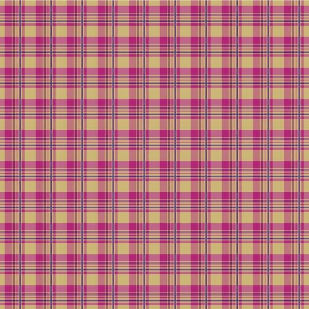 Pattern pink plaid Vetor grátis