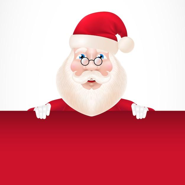 Personagem De Desenho Animado Do Papai Noel