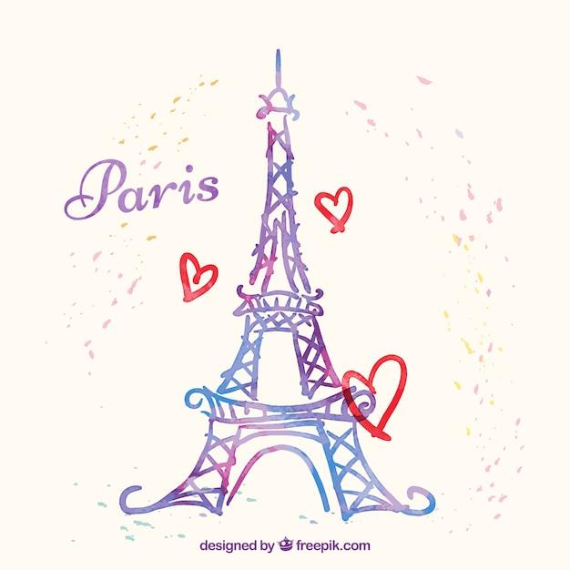 Эйфелева башня описание история высота фото  Paris