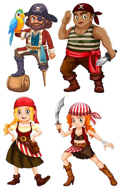 Pirata Vetor grátis