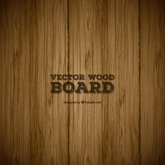 Placa de madeira textura Vetor grátis