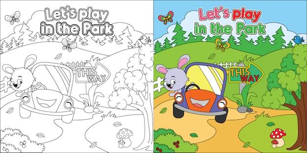 Planilha De Pagina Para Colorir Para Impressao Desenhos Animados