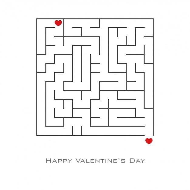 Plano de fundo dia dos namorados Vetor Premium
