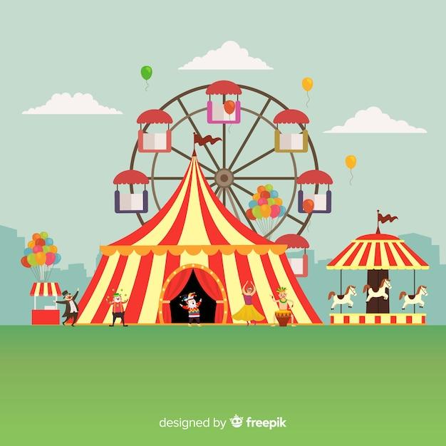 Plano de fundo do carnaval Vetor grátis