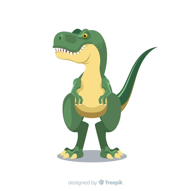 Plano de fundo t-rex Vetor grátis