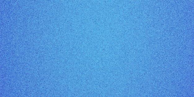 Plano de fundo texturizado em tecido denim de cor azul Vetor Premium