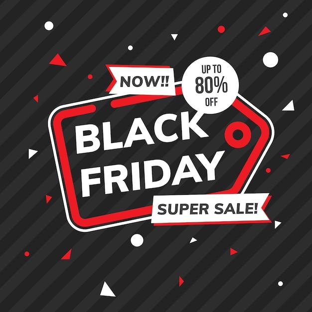 Preço sexta-feira sexta-feira Vetor Premium