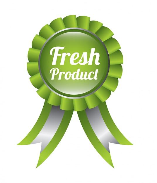 Produto fresco Vetor Premium