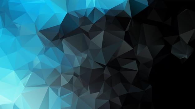 Projeto abstrato do fundo do polígono Vetor Premium