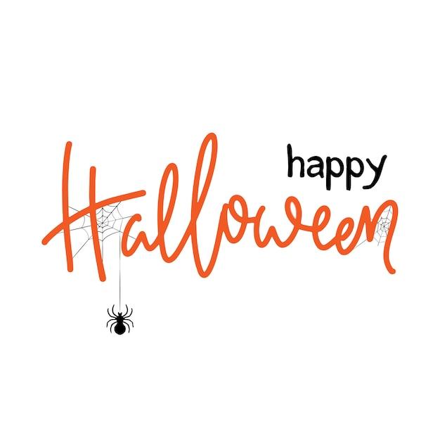 Projeto de banner de halloween. Vetor Premium