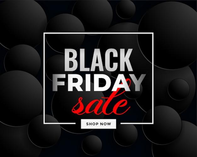 Projeto de banner de venda preto criativo sexta-feira Vetor grátis