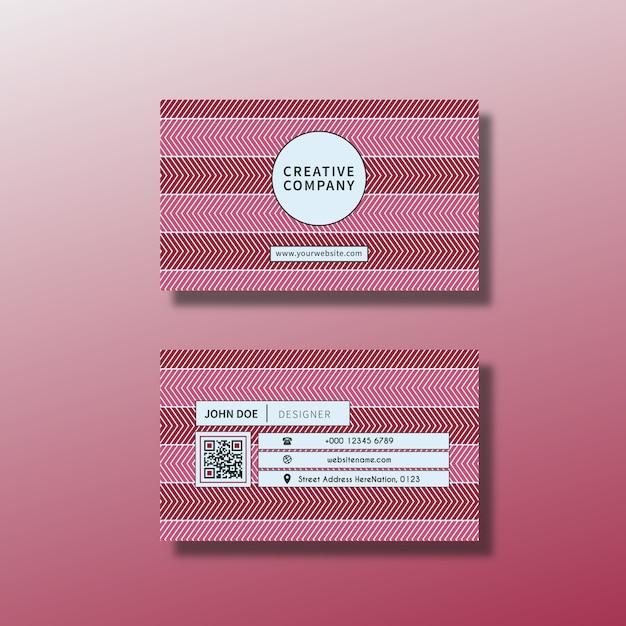 Projeto de cartão cor-de-rosa Vetor grátis