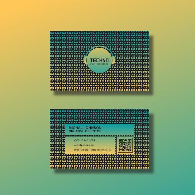 Projeto de cartão moderno Vetor grátis