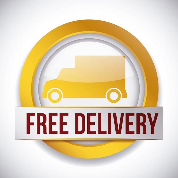 Projeto de entrega. Vetor Premium