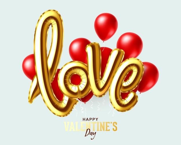 Projeto de feriado do dia dos namorados Vetor Premium