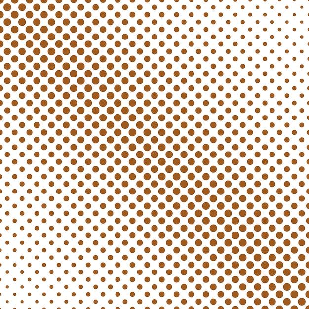 Projeto de fundo de padrão de bolinha de ponto de polca abstrata simples Vetor Premium