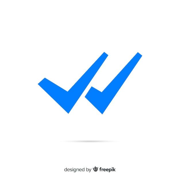 Projeto de verificação dupla do whatsapp Vetor grátis