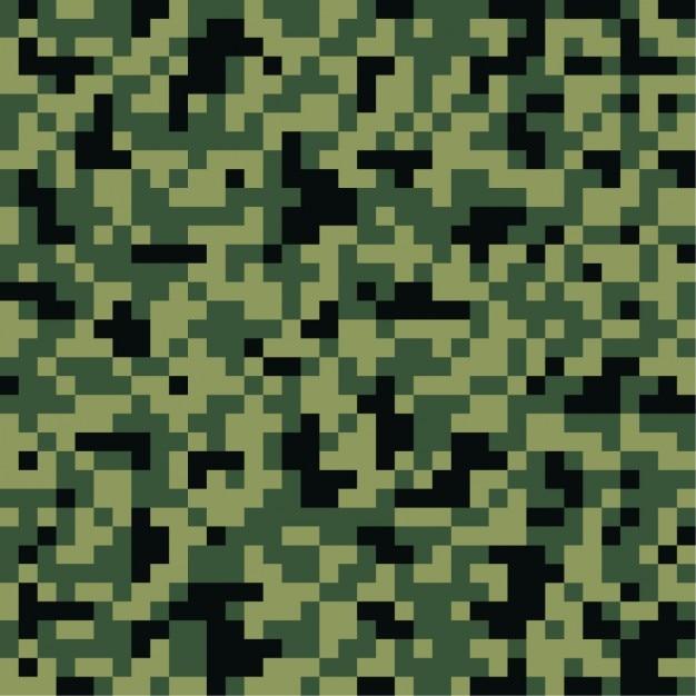Projeto do fundo da camuflagem Vetor grátis
