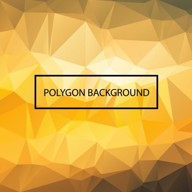 Projeto do fundo da poligonal colorido Vetor grátis
