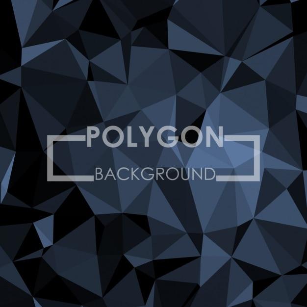 Projeto do fundo da poligonal Vetor grátis