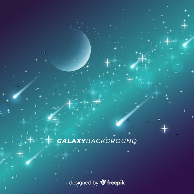 Projeto do fundo galáxia Vetor grátis