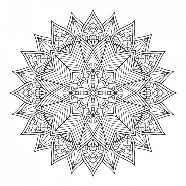 Projeto do ornamento do estilo boho Vetor grátis