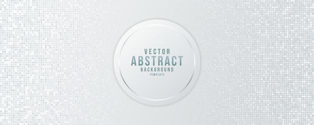 Projeto geométrico e futurista abstrato de vetor de fundo Vetor Premium