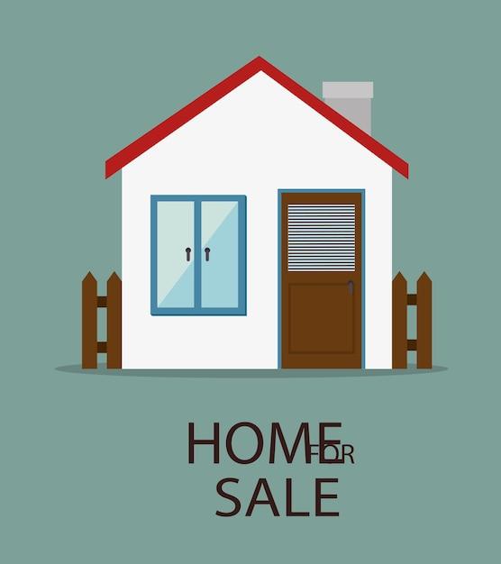 Projeto imobiliário, ilustração vetorial Vetor Premium