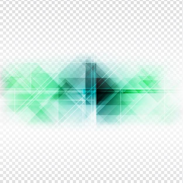 Projeto poligonal colorido abstarct no fundo transparente Vetor grátis