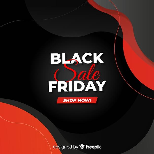 Promoção de sexta-feira negra gradiente Vetor grátis