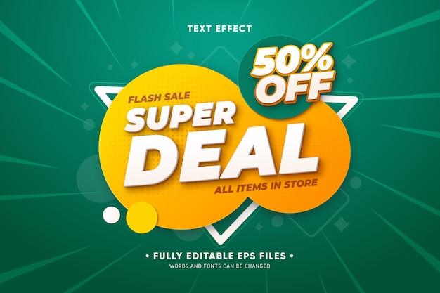 Promoção de vendas com formas abstratas Vetor grátis