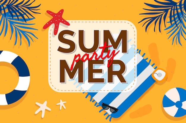 Promoção de verão tropical Vetor grátis